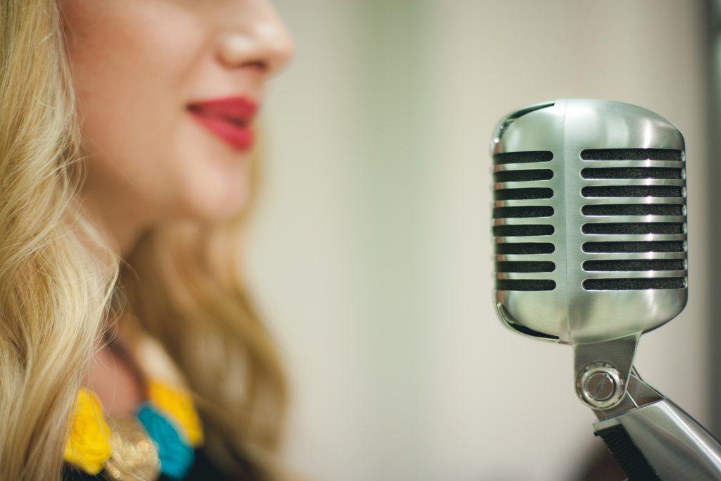 Shure classic microphone